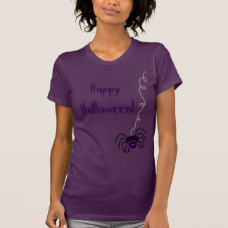 Happy Halloween Spider T-Shirt