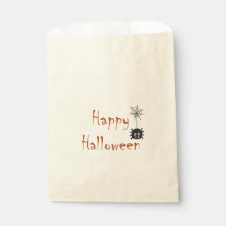 Happy Halloween Spider Treat Bag