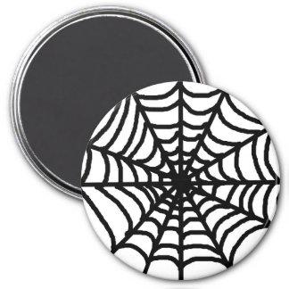 Happy Halloween Spider Web 7.5 Cm Round Magnet