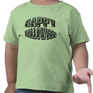 Happy Halloween Spiders & Spider Web Toddler Tee