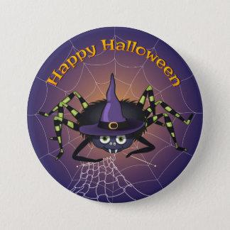 Happy Halloween Spiderwitch 7.5 Cm Round Badge