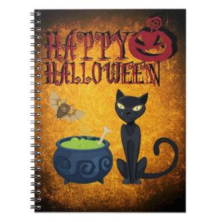Happy Halloween Spiral Notebooks