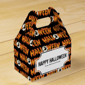 Happy Halloween Spook Party Favour Box