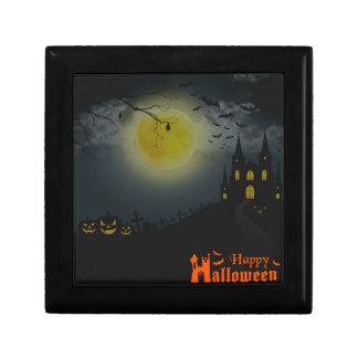 Happy Halloween Spooky House Gift Box