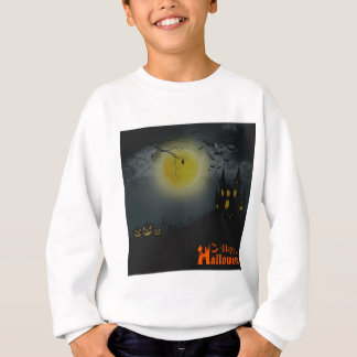 Happy Halloween Spooky House Sweatshirt