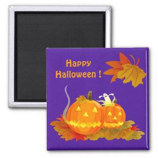 Happy Halloween ! Square Magnet