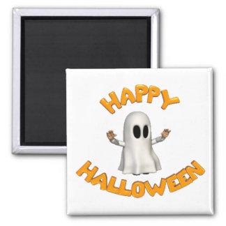 Happy Halloween - Square Magnet