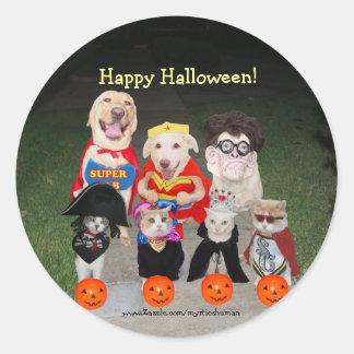 Happy Halloween! Round Sticker