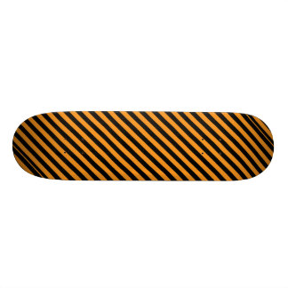 Happy Halloween Stripes 20.6 Cm Skateboard Deck