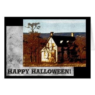 Happy Halloween Template Greeting Card