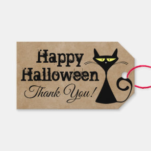 Happy Halloween Thank You Gift Tag