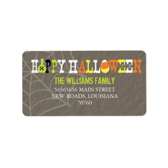 Happy Halloween (Today's Best Award) Label