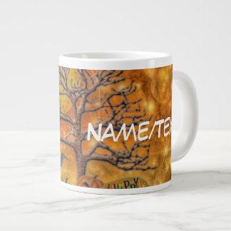 happy halloween tree jumbo mugs
