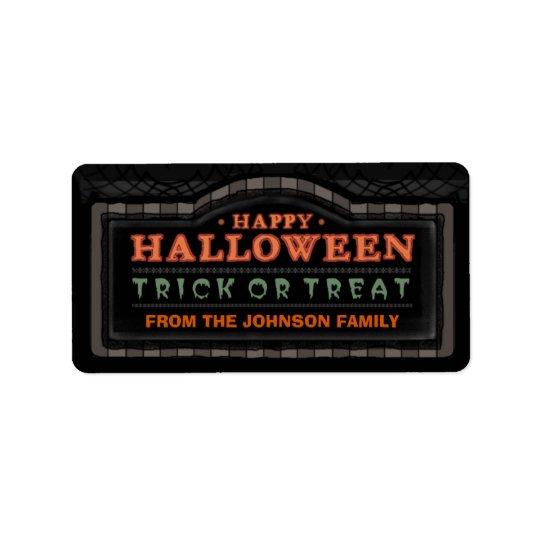 Happy Halloween - Trick or Treat Black Label