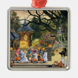 Happy Halloween Trick or Treat Children Christmas Ornament