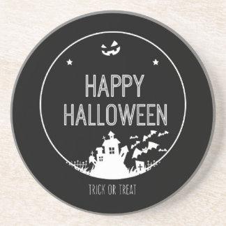 Happy Halloween Trick Or Treat Coaster