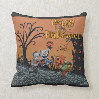 Happy Halloween Trick-or-Treat Edition Cushion