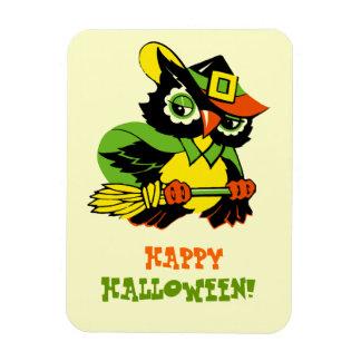 Happy Halloween Vintage Design Gift Magnet