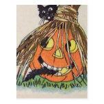 Happy Halloween(Vintage Halloween Card) Post Card