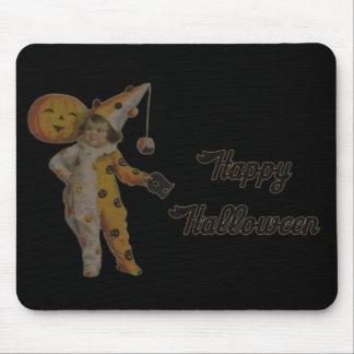 Happy Halloween Vintage Mouse Pad