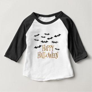 Happy Halloween Watercolor Bats Baby T-Shirt
