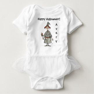 Happy Halloween Witch Baby Tutu Bodysuit