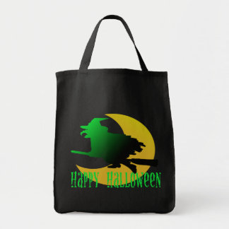happy halloween witch bag