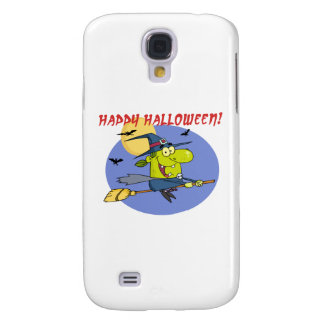 Happy Halloween Witch Galaxy S4 Cases