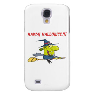 Happy Halloween Witch Samsung Galaxy S4 Cover