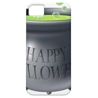 Happy Halloween witch cauldron iPhone 5/5S Cases