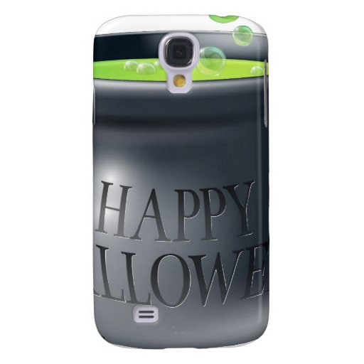 Happy Halloween witch cauldron HTC Vivid Case