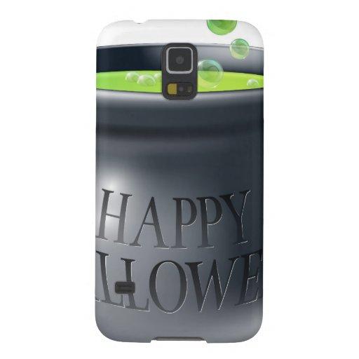 Happy Halloween witch cauldron Galaxy Nexus Covers
