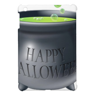 Happy Halloween witch cauldron Cover For The iPad Mini