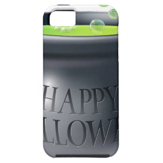 Happy Halloween witch cauldron iPhone 5/5S Cover