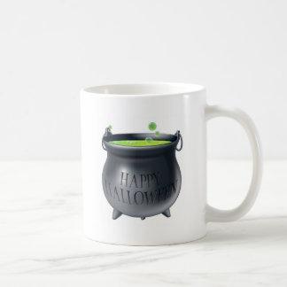Happy Halloween witch cauldron Coffee Mug