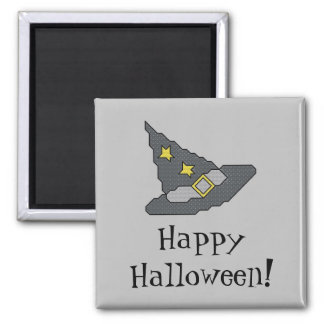 Happy Halloween! Witch Hat Magnet