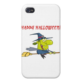 Happy Halloween Witch Covers For iPhone 4