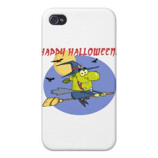 Happy Halloween Witch iPhone 4/4S Case