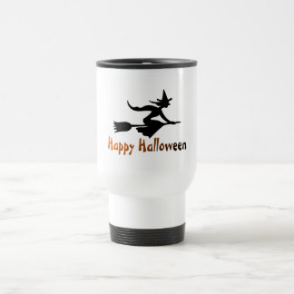 Happy Halloween Witch Coffee Mug