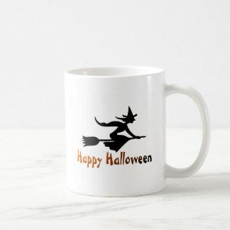 Happy Halloween Witch Coffee Mugs