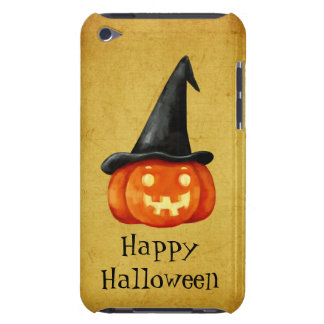 Happy Halloween Witch Pumpkin Barely There iPod Covers