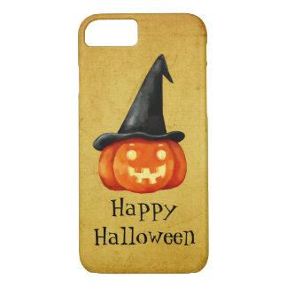 Happy Halloween Witch Pumpkin iPhone 8/7 Case