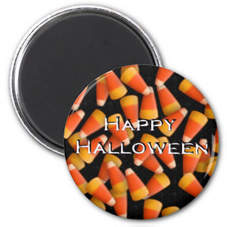 Happy Halloween with Candy Corn Magnets