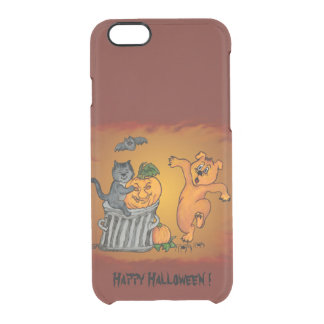 Happy Halloween with Cat Bat Dog and Spider iPhone 6 Plus Case