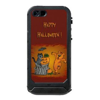 Happy Halloween with Cat Bat Dog and Spider Incipio ATLAS ID™ iPhone 5 Case