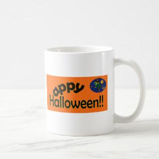 Happy Halloween with Witch Mug