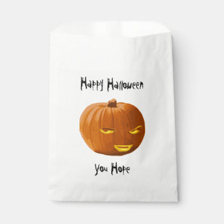 Happy Halloween - You Hope Pumpkin Favour Bags