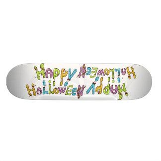 happy halloween - zombie graffiti 19.7 cm skateboard deck