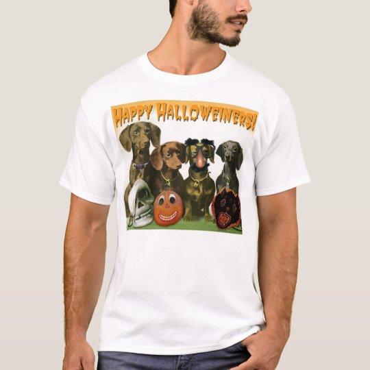 Happy Halloweiners - Dachshund Halloween T-shirt