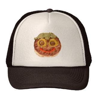 Happy Hamburger Trucker Hat